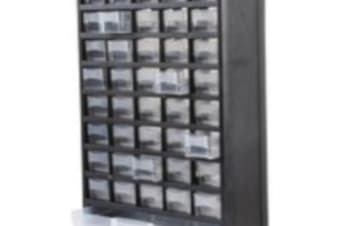 DURATOOL Storage Cabinet Wall Mount 40Compartment 444mm 138mm 310mm suitable wall desk