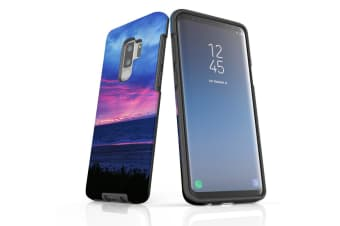 For Samsung Galaxy S9+ Plus Case Armour Cover  Sunset at the Beach