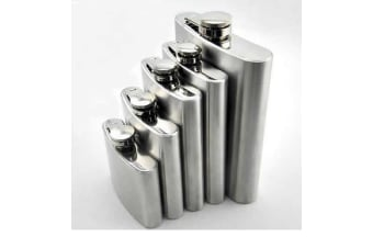 Stainless Steel Hip Flask - 10oz