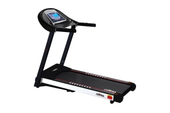 Centra Electric Treadmill Auto Incline Home Gym Exercise Machine Fitness Black  -  AUTO & Black