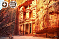 JORDAN: 8 Day Secrets of Jordan Tour Including Flights for Two