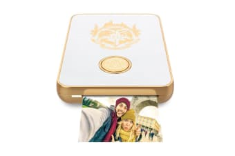 Lifeprint Harry Potter 2x3 Bluetooth Photo/Video Printer for iOS/Android White