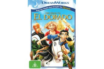 The Road to El Dorado DVD Region 4