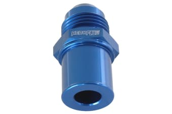Aeroflow Push In Cover Breather Adapterto -8AN Blue BA To FG Rear