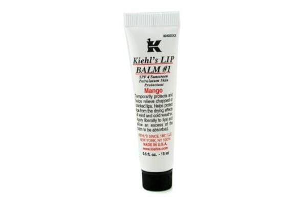 Kiehl's Lip Balm SPF4 Sunscreen - # 1 Mango (15ml/0.5oz)