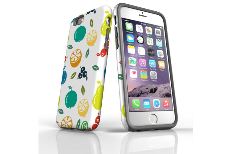 For iPhone 6S & 6 Shielding Back Case  Fruit