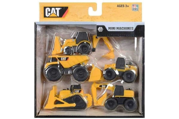 CAT Mini Machines Value 5 Pack