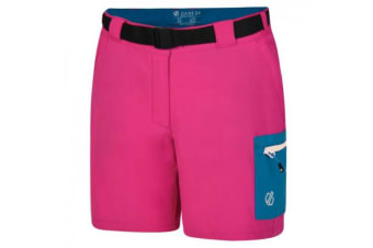 Regatta Womens/Ladies Revify Lightweight Multi Pocket Walking Shorts (Cyber Pink) (10 UK)