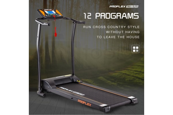 PROFLEX Electric Treadmill Exercise Fitness Equipment Home Gym Machine TRX1