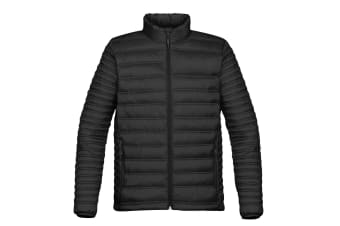 Stormtech Mens Basecamp Thermal Quilted Jacket (Black) (XL)
