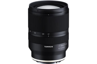 Tamron 17-28mm F2.8 Di III RXD (A046) for Sony FE