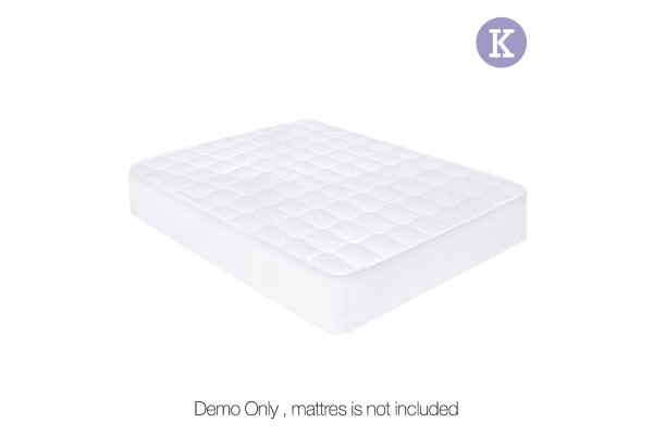 Cotton Cover Mattress Protector (King)
