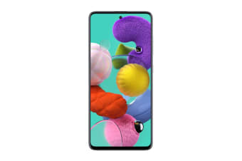 Samsung Galaxy A51 Dual SIM (6GB RAM, 128GB, Prism Crush White)