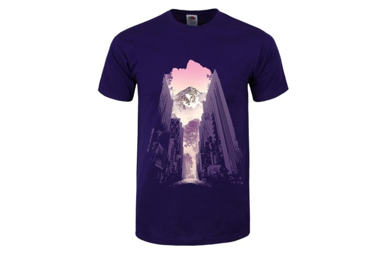 Grindstore Mens Urban Revelation T-Shirt (Purple) (M)
