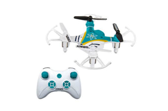 Xtreem 7.7cm Mini Pocket RC 2.4GHz Quadcopter Drone Remote Control Flying Toy
