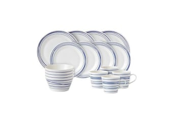 Royal Doulton Pacific Dinner Set 16pc Lines