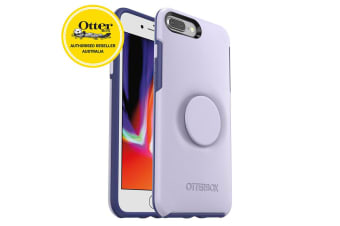 OtterBox Pop Holder Symmetry Case/Cover Drop Proof for iPhone 7/8 Plus Lilac