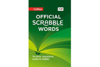 Collins Official Scrabble Words - The Official, Comprehensive Wordlist for Scrabble (TM)