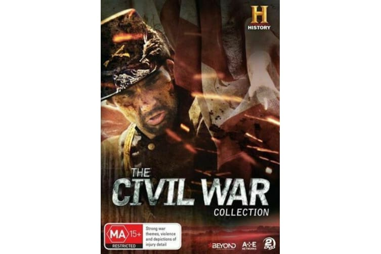 The Civil War (2016, 2-Disc Set) - Region 4 -  - Rare- Aus Stock Preowned DVD: DISC LIKE NEW