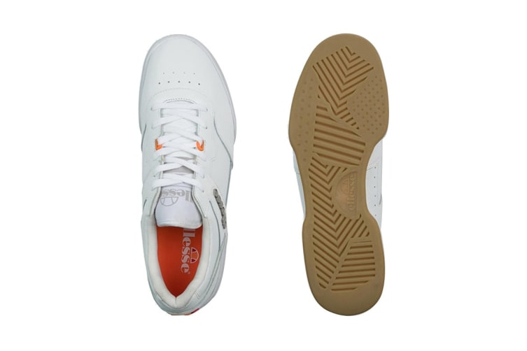 Ellesse Men's Piacentino 2.0 Leather AM Shoe (White, Size 11 US)