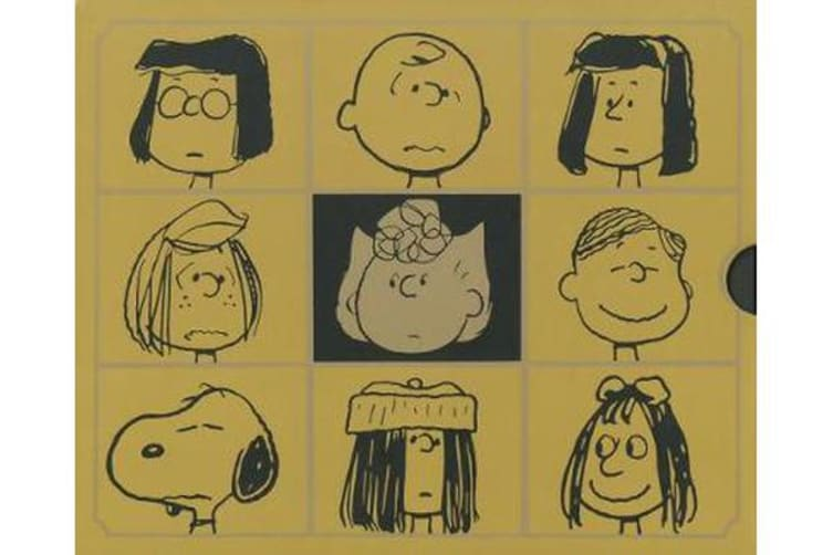 Complete Peanuts 1987-1990, The - Gift Box Set