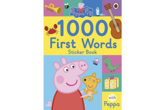 Peppa Pig - 1000 First Words Sticker Book