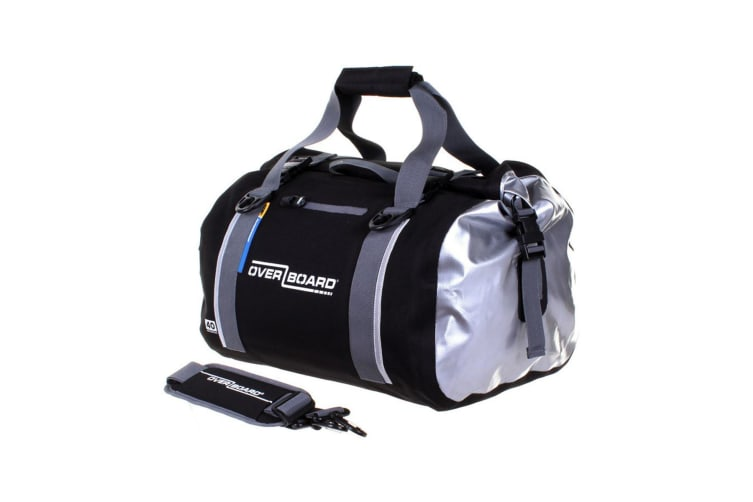 Overboard 40 Litre Classic Duffel Black