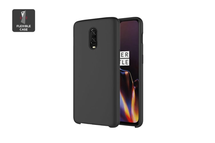 sports shoes 1cca6 33457 OnePlus 6T Silicone Case - Black