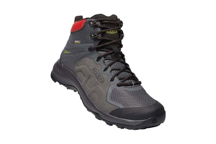 Keen Explore Mid WP Mens Magnet Bright Red - 10H