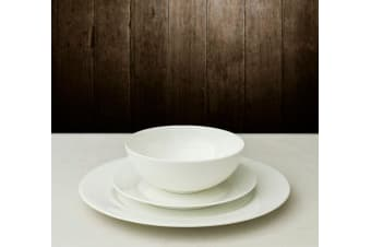 Nel Lusso White Rimmed Dinner Set 12pc
