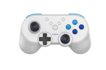 Select Mall Mini Wireless Controller Bluetooth Controller with Vibration Suitable for Switch Host-White