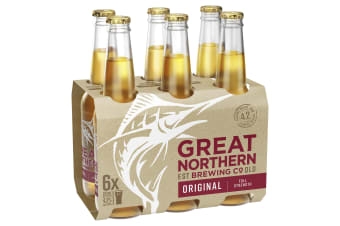 Great Northern Brewing Co. Original 24 x 330mL Bottles