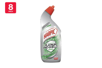 Harpic 500ml Platinum Pro - Shield Pine Forest (8 Pack)