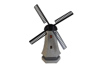 Solar Garden Light Windmill Ornament Statue Tower Lighting 53cm