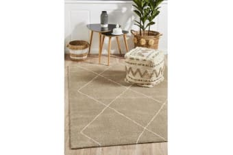 Carter Natural & Ivory Soft Contemporary Rug 340x240cm