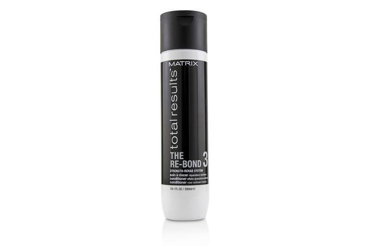 Matrix Total Results The Re-Bond Strength-Rehab System Conditioner (For Extreme Repair) 300ml/10.1oz
