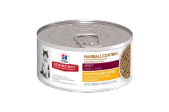 Hills Science Diet Adult Hairball Chicken Cans - 1 Can