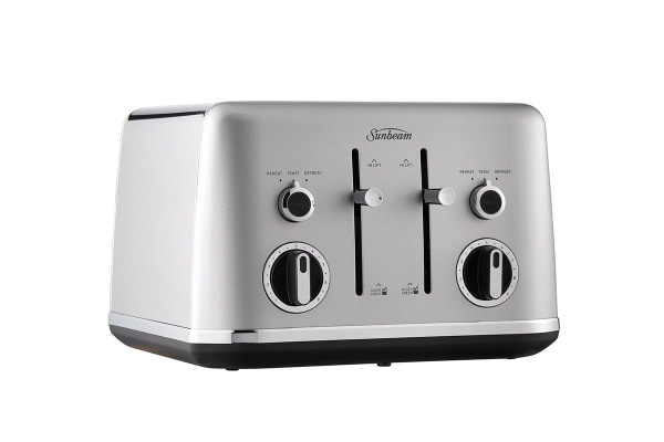 Sunbeam Gallarie Collection 4 Slice Toaster - Silver Cloud (TA2640SC)
