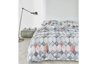 Go Grey Quilt Cover Set King