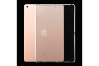 For iPad 7 10.2 Inch 2019 Case  Clear & Slim 3mm TPU Soft Protective Cover