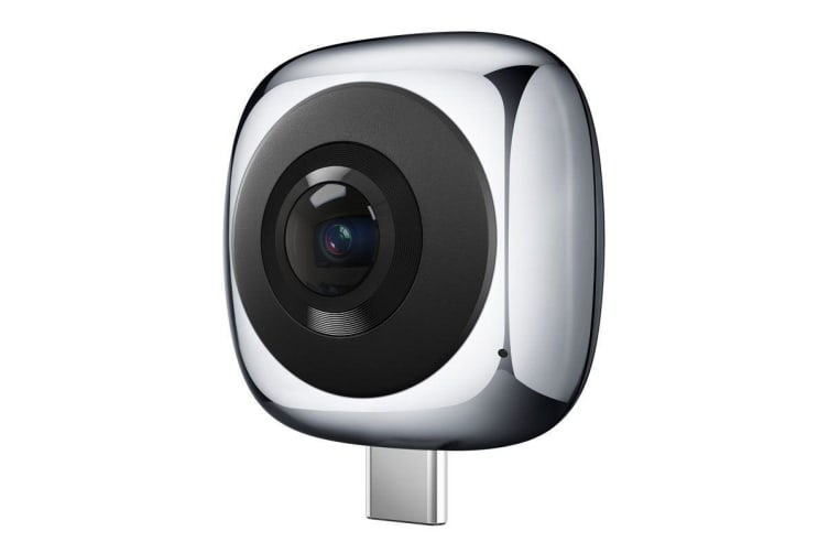 Huawei 360 Panoramic VR Camera (Support Android & Type C) - Gray