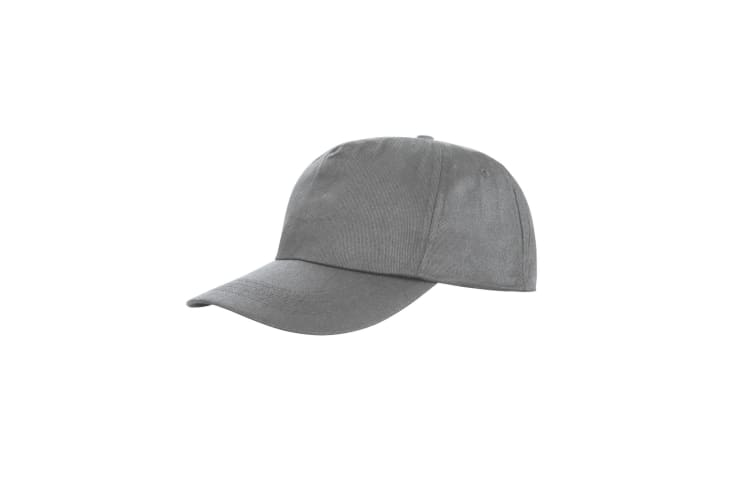Result Unisex Core Houston 5 Panel Printers Baseball Cap (Pack of 2) (Dove Grey) (One Size)