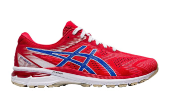 ASICS Men's GT-2000 8 Running Shoe (Classic Red/Electric Blue)