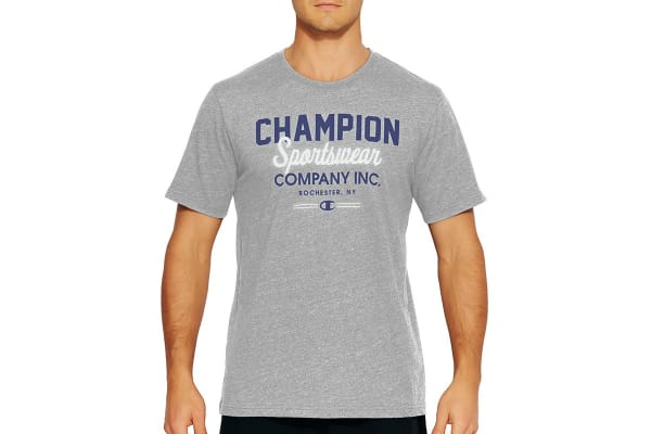 Champion Men's VT Sportswear Inc Tee - Oxford Heather (Size S)