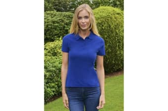 Casual Classic Womens/Ladies Polo (Royal)