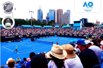 "MELBOURNE: 7 Day 2020 Australian Open and P&O ""Pacific Explorer"" Cruise Package for Two"