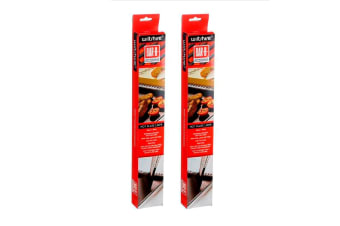 Wiltshire Bar-b Non Stick Bbq Hot Plate Liner 2 Pack 50 X 38cm