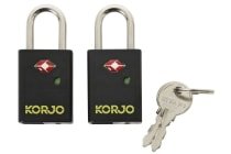 Korjo TSA Keyed Locks with Indicator