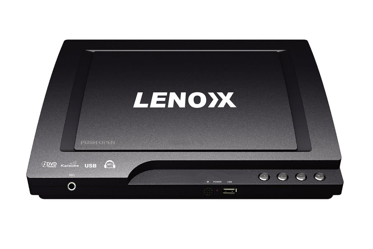 Lenoxx Compact Multi-Region DVD Player with USB (DVD3460)
