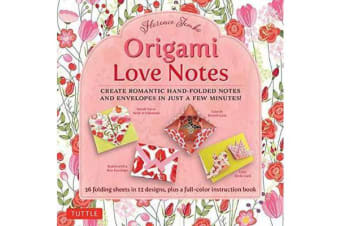 Origami Love Notes - Romantic Hand-Folded Notes and Envelopes